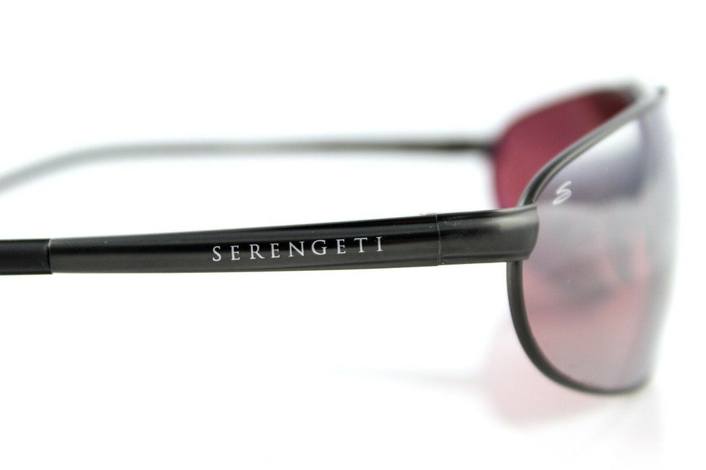POLARIZED New Genuine SERENGETI COMO Sedona Satin Dark Gunmetal Sunglasses 8396