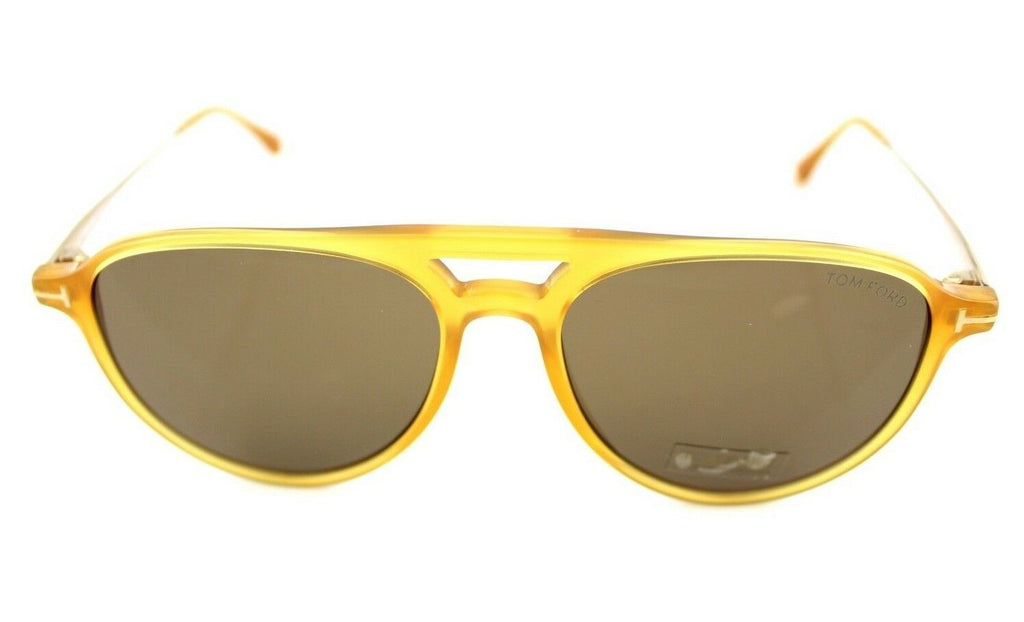 Tom Ford Carlo-02 Unisex Sunglasses TF 587 FT 0587 39J 56