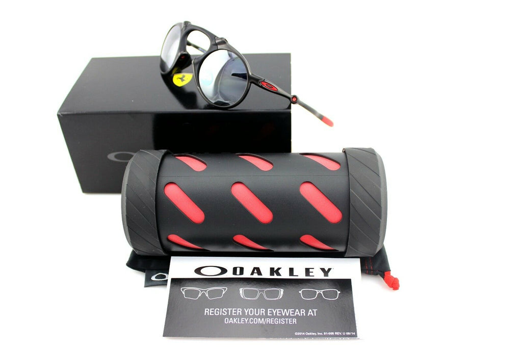 Oakley Madman Ferrari Polarized Men's Sunglasses OO 6019-06 1