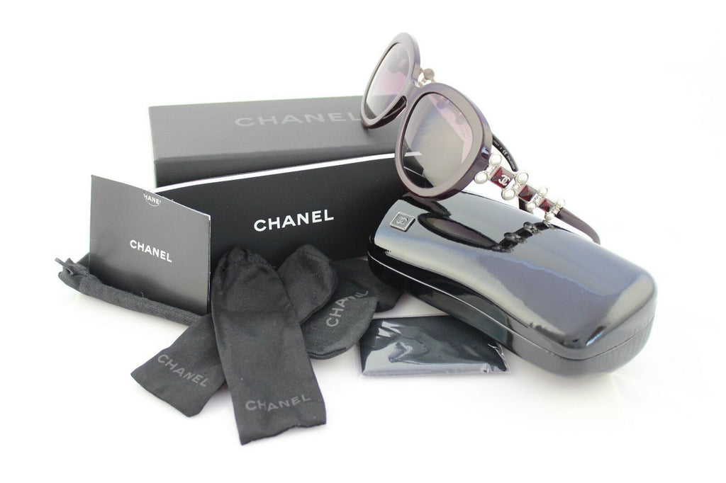 RARE New LIMITED Edtn CHANEL BIJOU PEARL Polarized Sunglasses CH 5334-H-B 1461K5