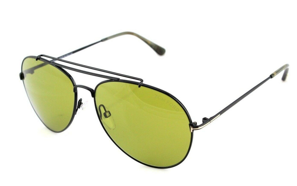 Tom Ford Indiana Unisex Sunglasses TF 497 FT 0497 01N 2