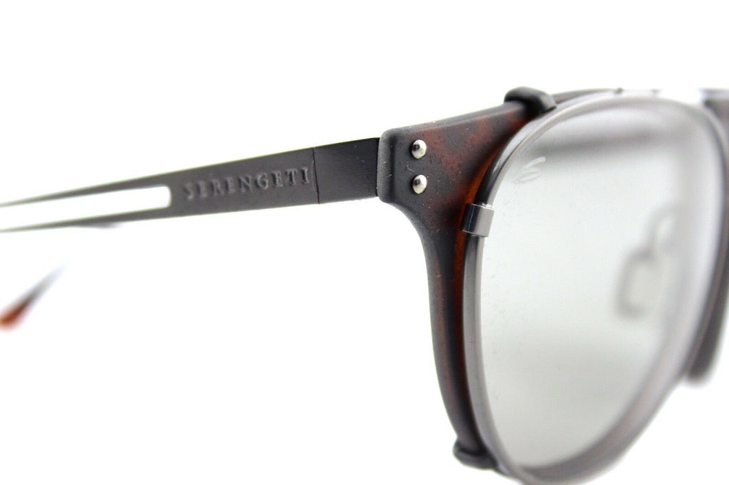 Serengeti Palmiro Clip-On Photochromic PHD CPG Polarized Unisex Sunglasses 8055 7