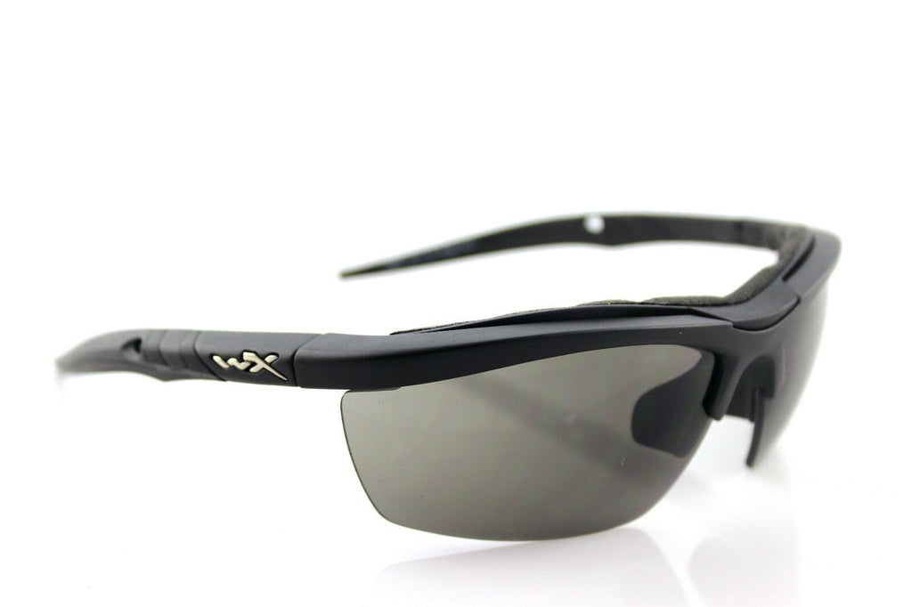 RARE Genuine WILEY X GUARD Intrchangeable Matte Black Grey Clear Rust SUNGLASSES
