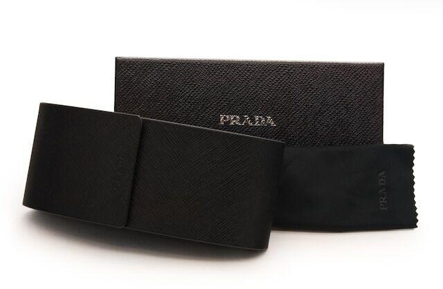 RARE Genuine PRADA Ladies Butterfly Black White Sunglasses SPR 12P 7S3 0A7 12PS