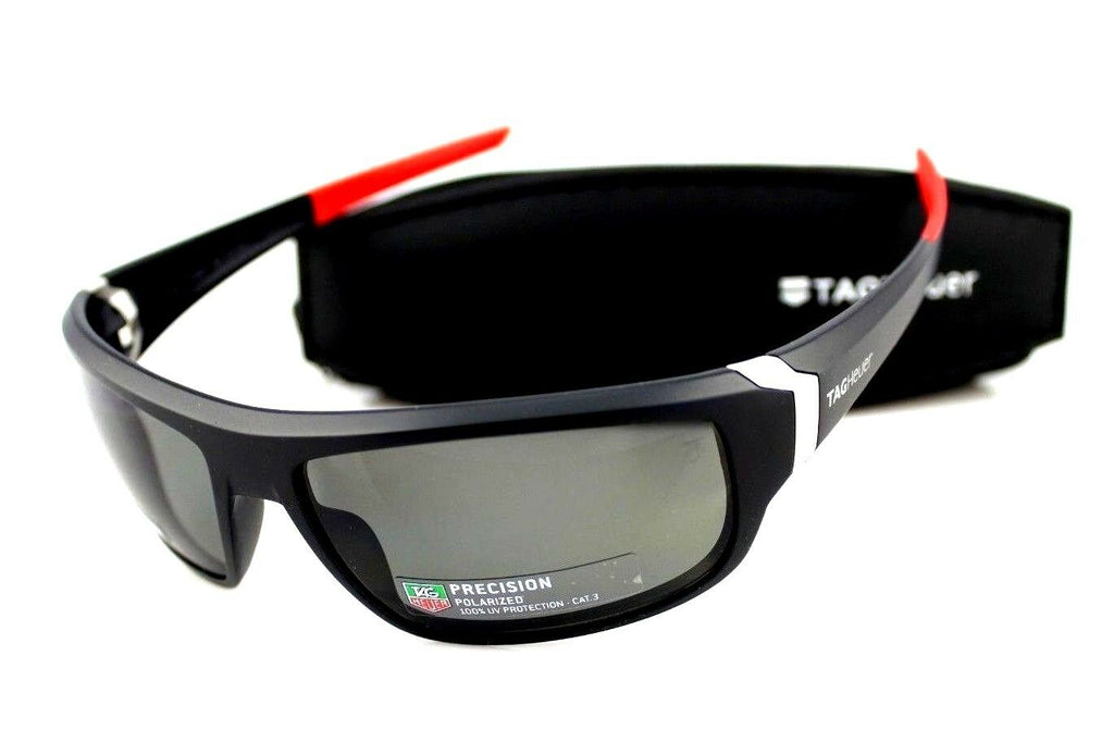 TAG Heuer Racer Precision Polarized Unisex Sunglasses TH 9221 108 64mm 9