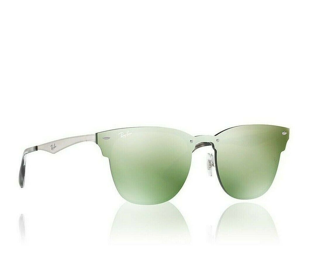 Ray-Ban Blaze Clubmaster Unisex Sunglasses RB 3576N 04230 9