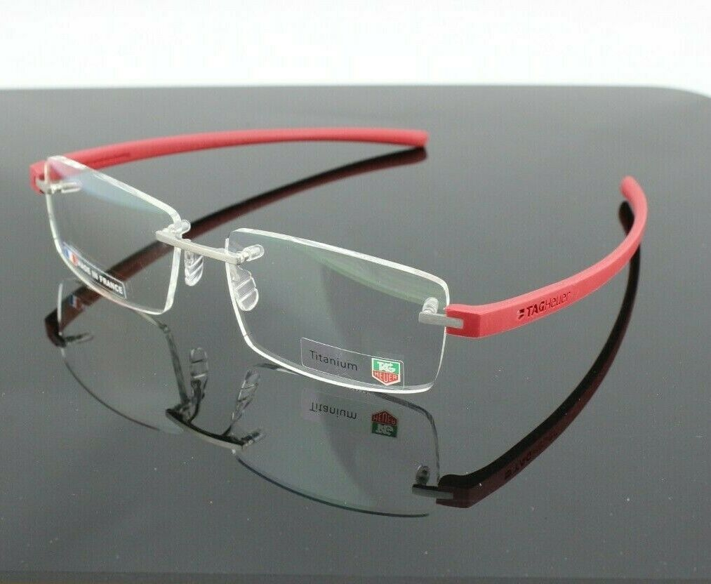 TAG Heuer Reflex Men's Eyeglasses TH 3941 012 7