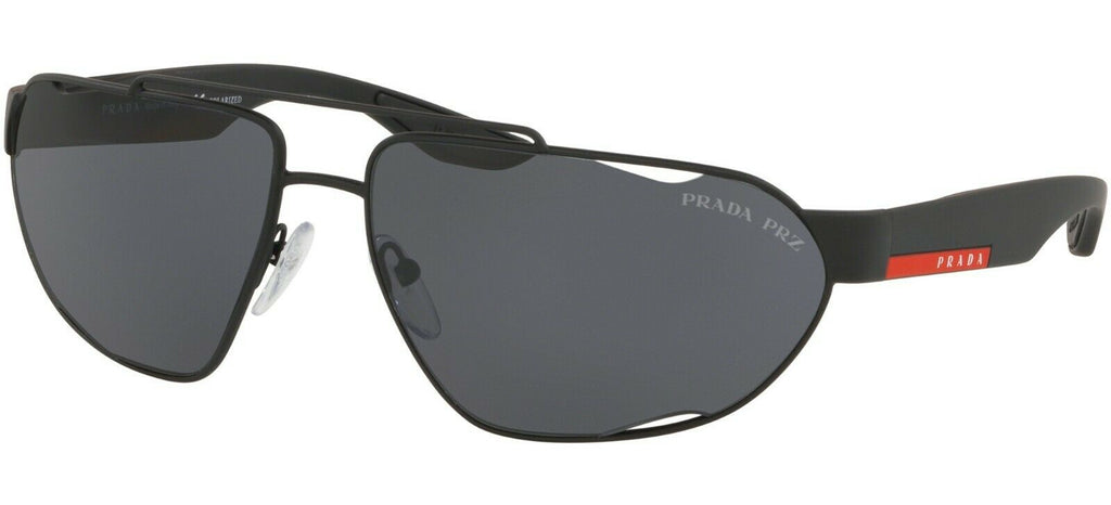 Prada Linea Rossa Polarized Unisex Sunglasses SPS 56U DG0 5Z1 PS 56US 8