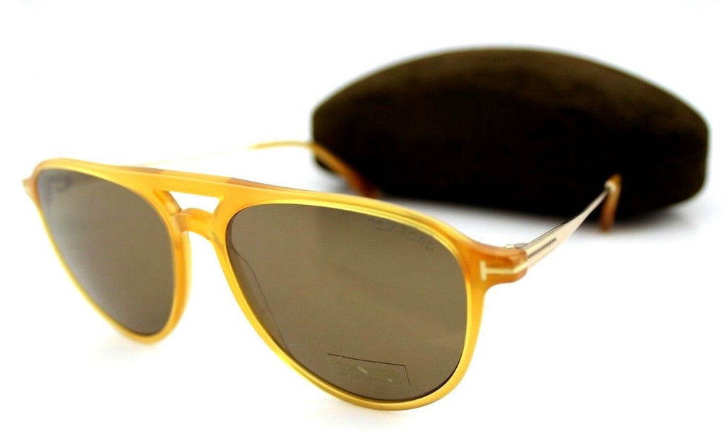 Tom Ford Carlo-02 Unisex Sunglasses TF 587 FT 0587 39J 58 10