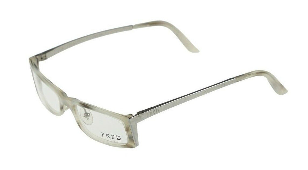RARE New Authentic FRED LUNETTES ST MORITZ Nacre Blanc Eyeglasses Frame C3 001
