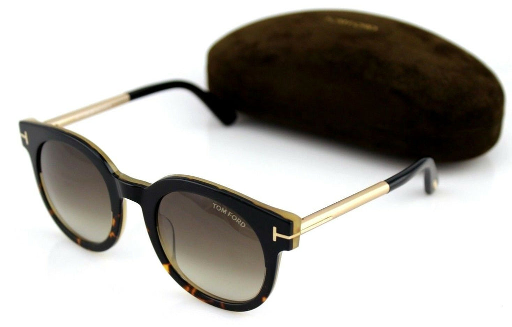 Tom Ford Janina Unisex Sunglasses TF 435 FT 0435 01K 9