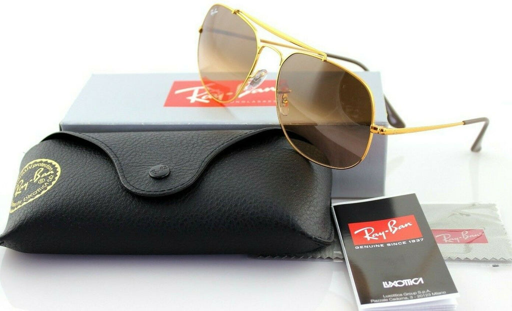 Ray-Ban The General Unisex Sunglasses RB 3561 9001/A5 10