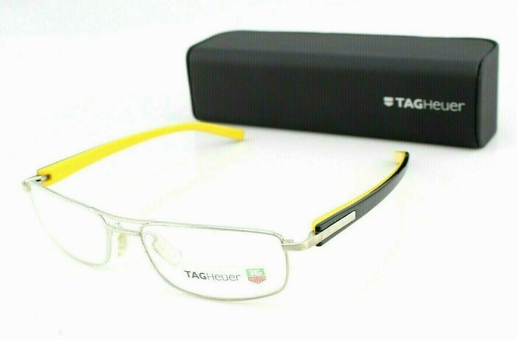 TAG Heuer Unisex Eyeglasses TH 8003 001 7