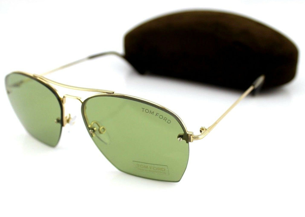 Tom Ford Whelan Unisex Sunglasses TF 505 FT 0505 28N 10