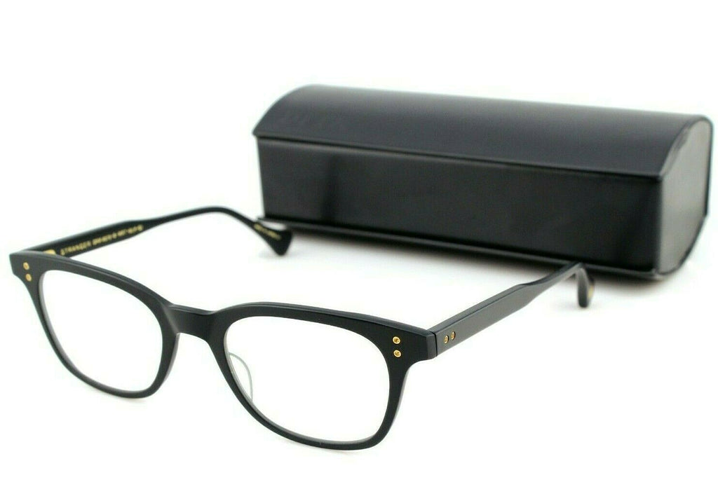 RARE NEW Genuine DITA STRANGER Matte Black Full Rim Eye Glasses Frame DRX 2079 B