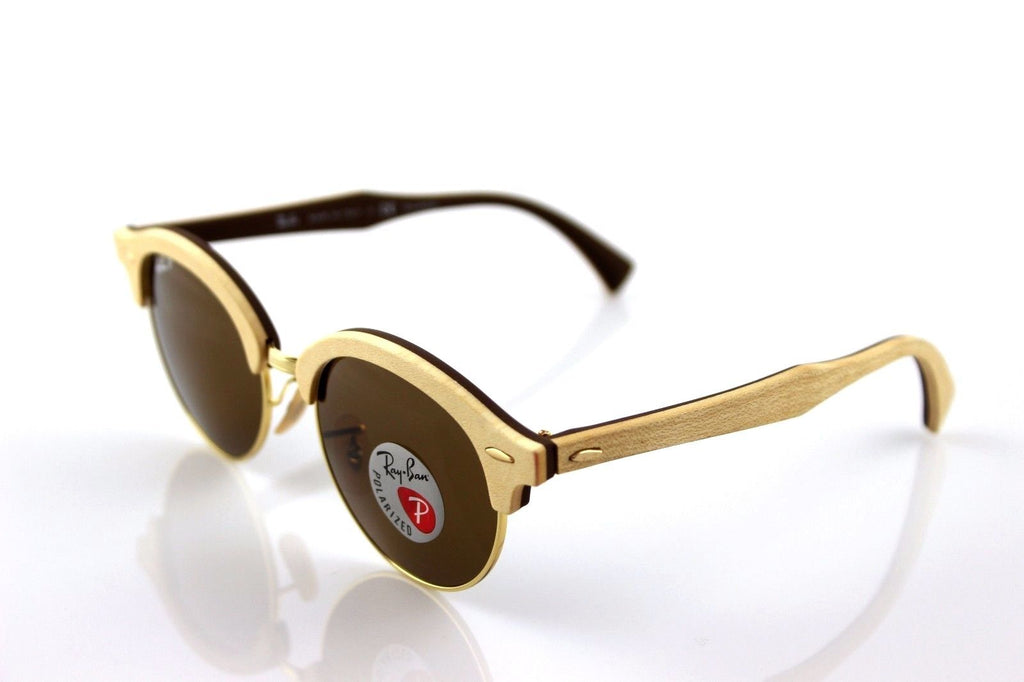 RAY-BAN CLUB ROUND WOOD RB4246M_117957||RB4246M_117957