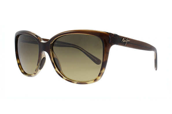 817671714968 Details about NEW Maui Jim Starfish HS744-01T Translucent Chocolate With  Tortoise Womens Sun