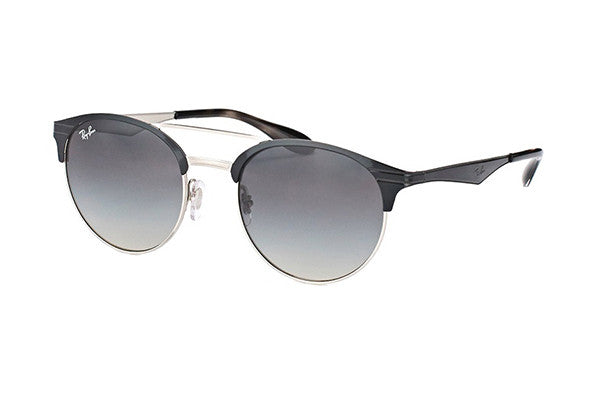 77fb3cba1b120 NEW Genuine Ray Ban RB3545 900411 54 Black Silver Mens Womens ...