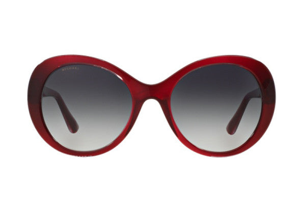 Bvlgari BV8159BQ 55mm Cherry frame, Smoke Shaded lens