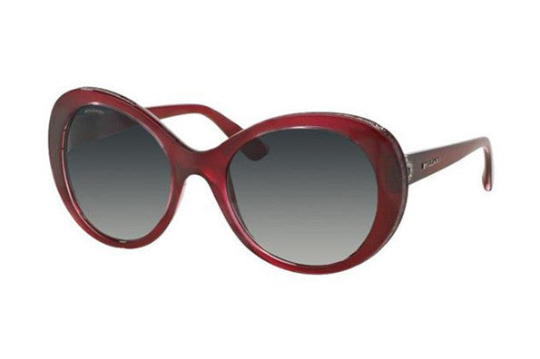 Bvlgari BV8159BQ 55mm Havana frame, Brown Shaded lens