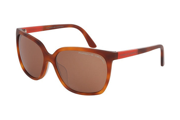 Porsche Design 8589e havana (tobacco brown silver mirrored lens)