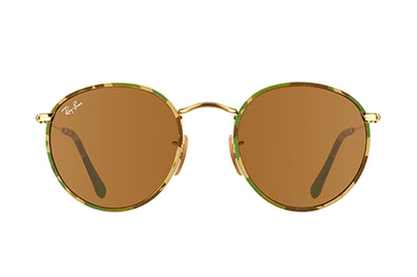 Ray-Ban RB3447JM 169 MILITARY GREEN GOLD