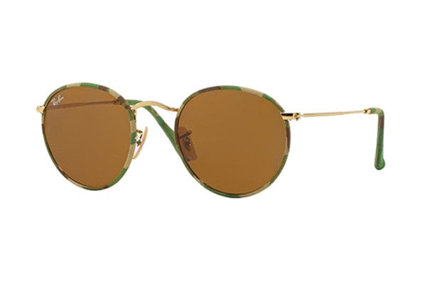 Ray-Ban RB3447JM 169 MILITARY GREEN GOLD (BROWN LENS)