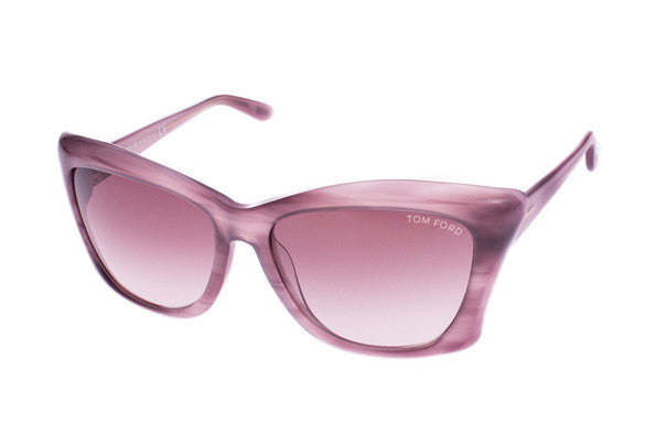 Tom Ford Lana TF280 Purple frame, Brown Gradient lens
