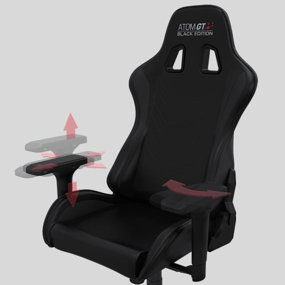 ATOM GT Black Edition - 4D Armrests