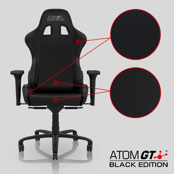 ATOM GT Black Edition - Leather Closeup