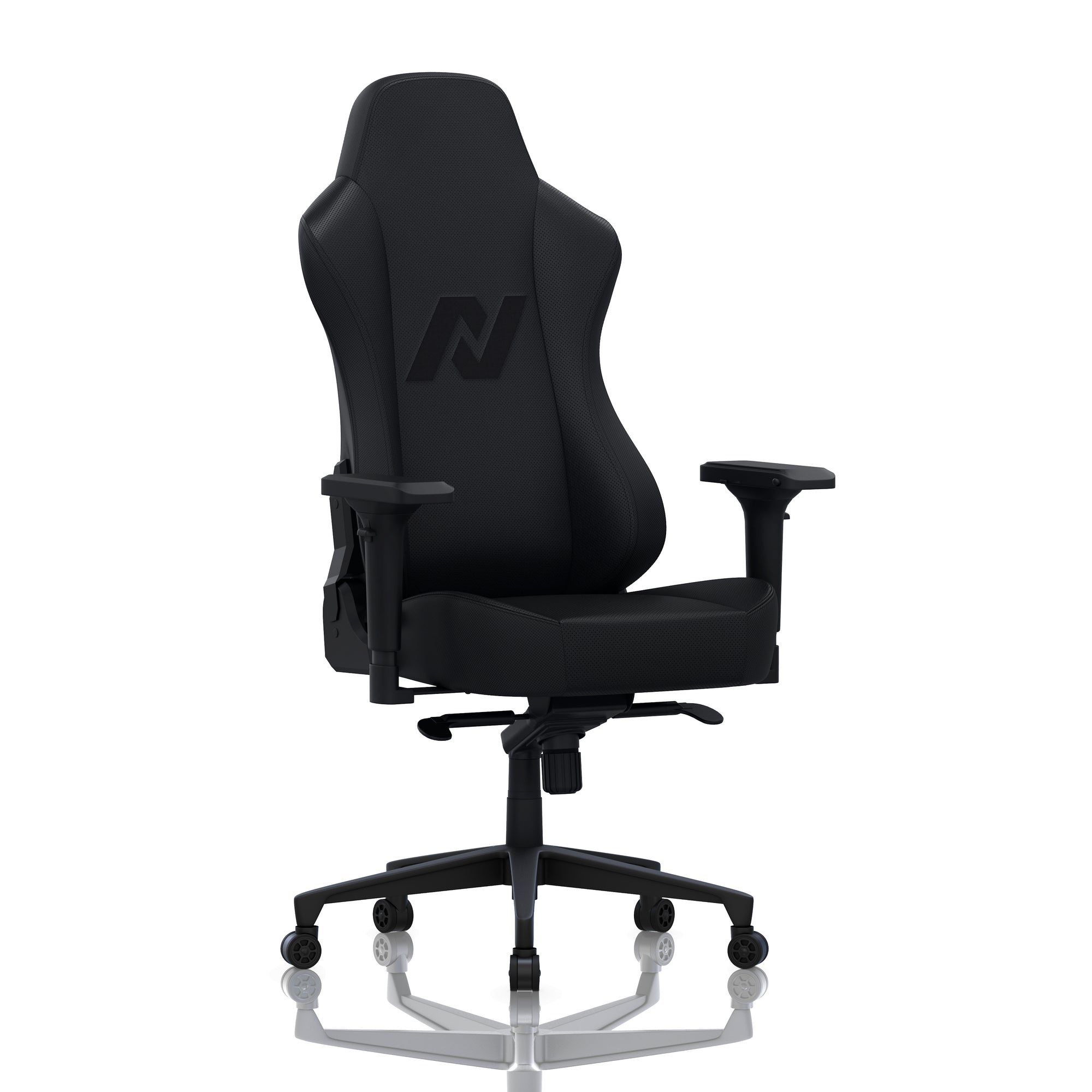 ATOM Nucleus Executive Office Gaming Chair Perforated Leather - Slight turn right view