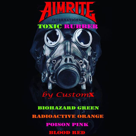 Aimrite - New Toxic Orange 16mm USA Latex Rubber