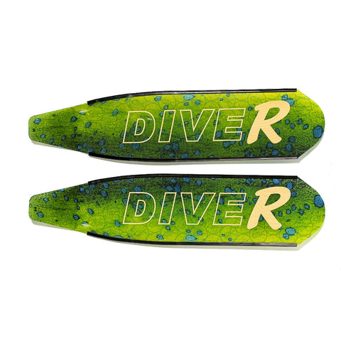DiveR Dorado Composite Blades | Spear West WA
