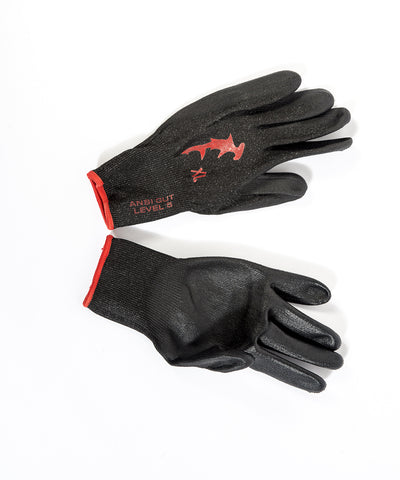 Hammerhead - Dyneema Gloves – PU - Black