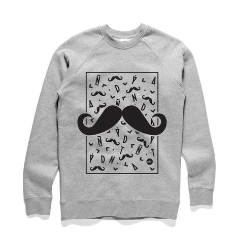 Danny T Moustache Sweat