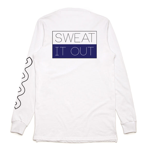 Sweat It Out Long Sleeve Wave T-Shirt
