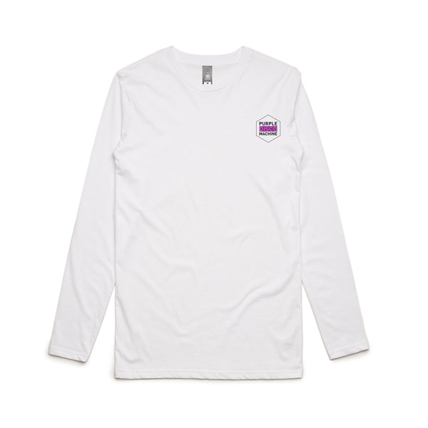 Purple Disco Machine Long Sleeve T-Shirt
