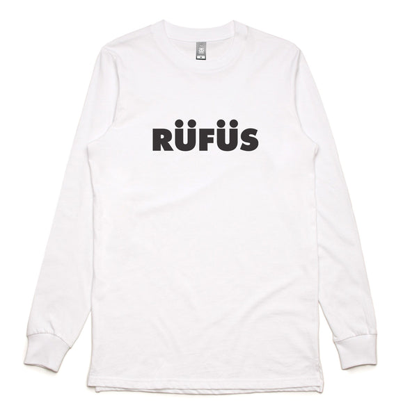 NEW! RÜFÜS LOGO LONG SLEEVE TEE