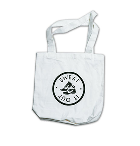 Sweat It Out Tote Bag