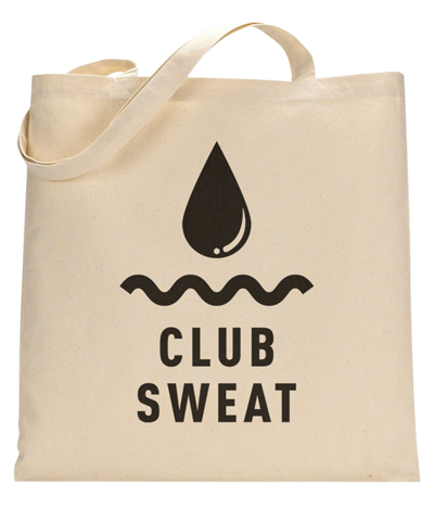 Club Sweat Tote Bag