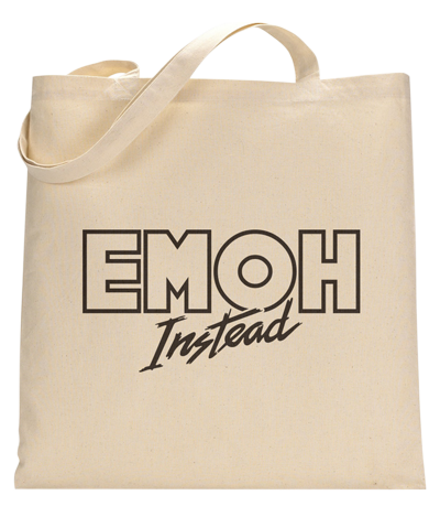Emoh Instead Tote Bag