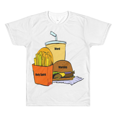 Holy Meal Large Graphic t-shirt
