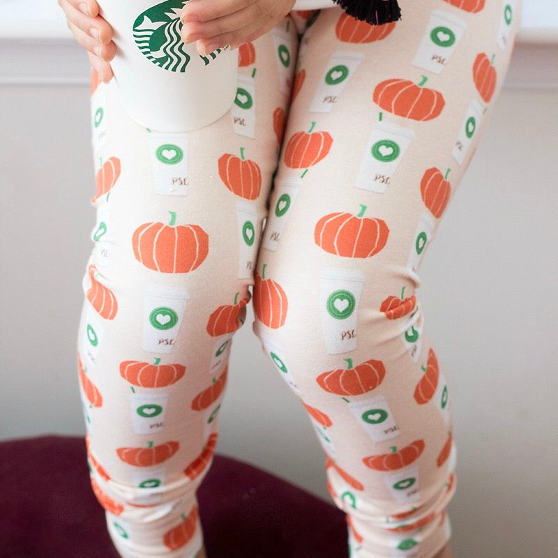Pumpkin Spice Latte Leggings