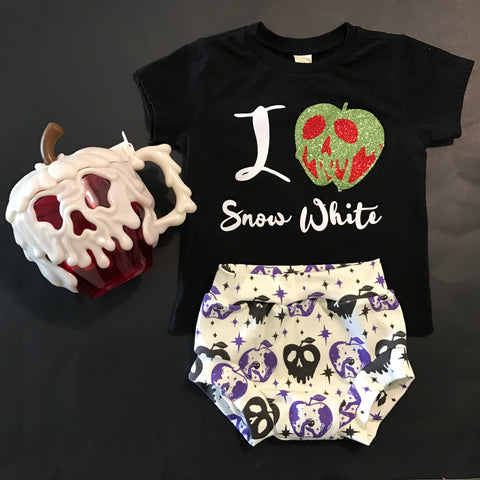 Poison Apple Shorts and Bummies
