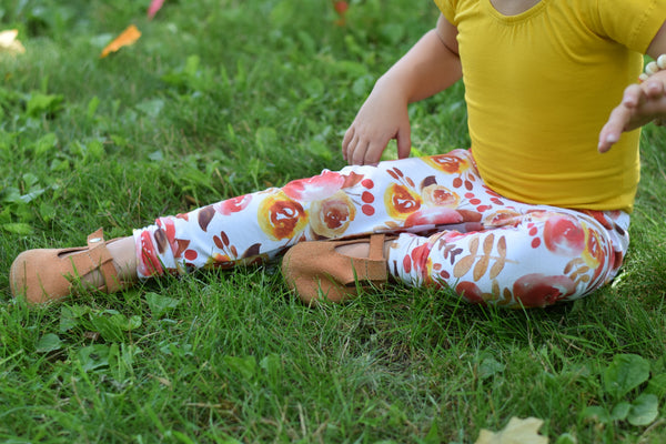 Fall Floral Leggings