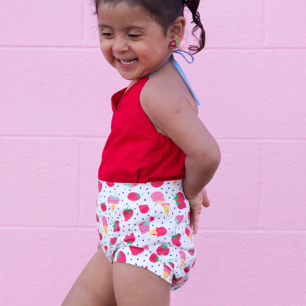 Strawberry Ice cream Shorts & Bummies