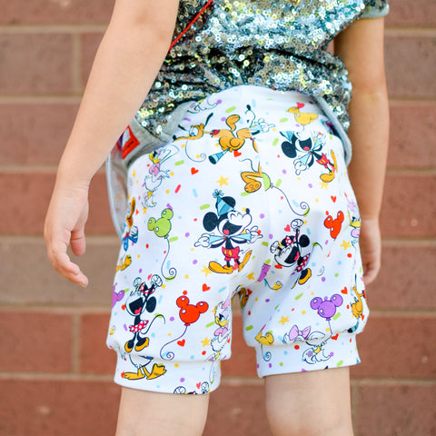 Party Mouse Shorts & Bummies
