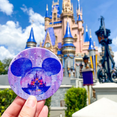 Castle Mouse Magnet