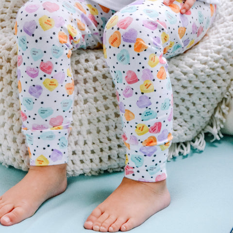 Conversation heart Leggings