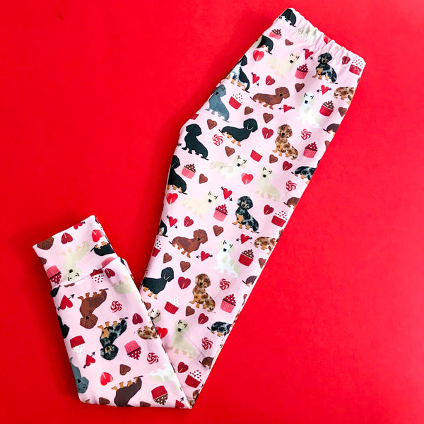 Valentine Doxie Leggings